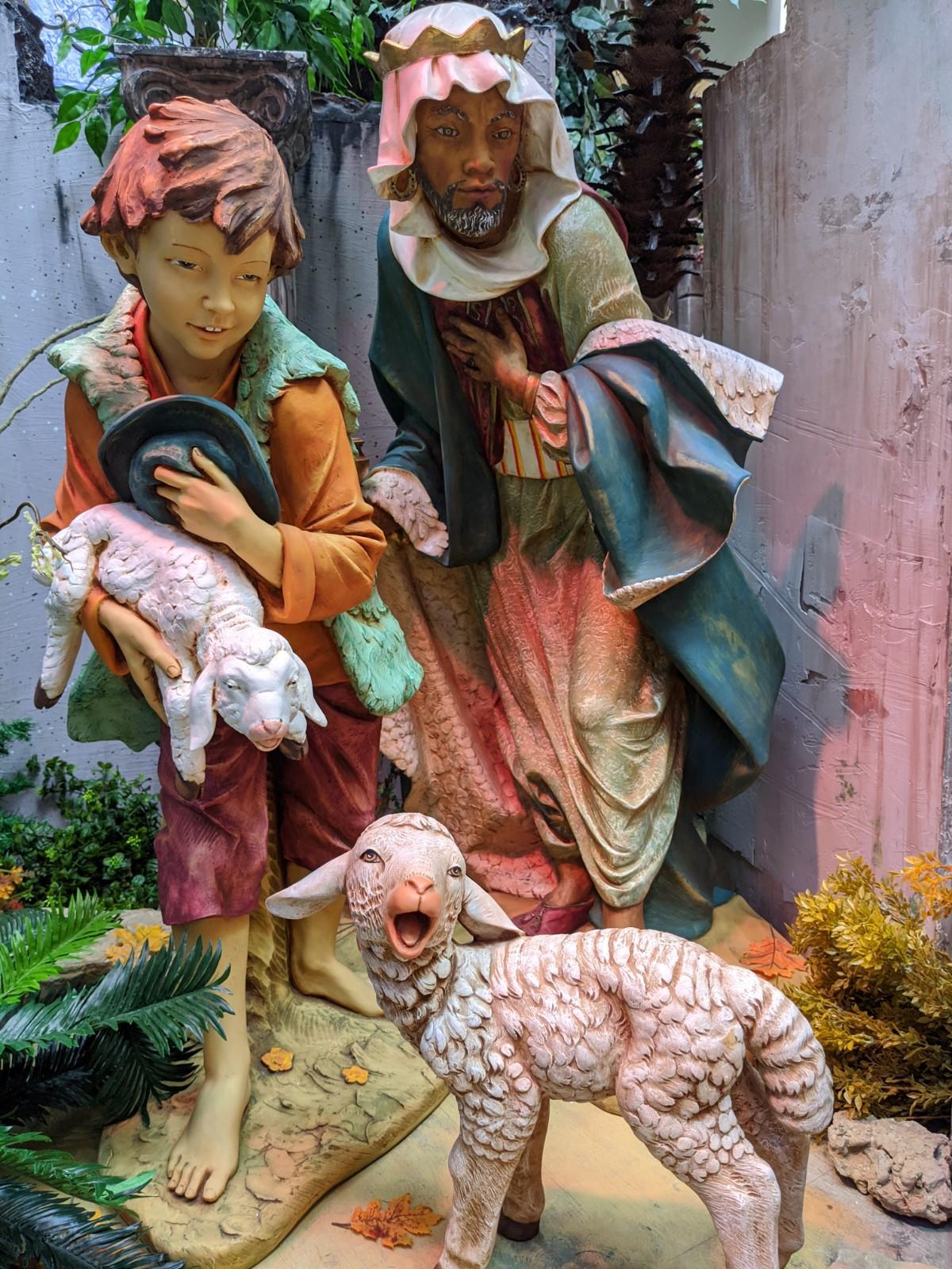 Fontanini Nativity Display
