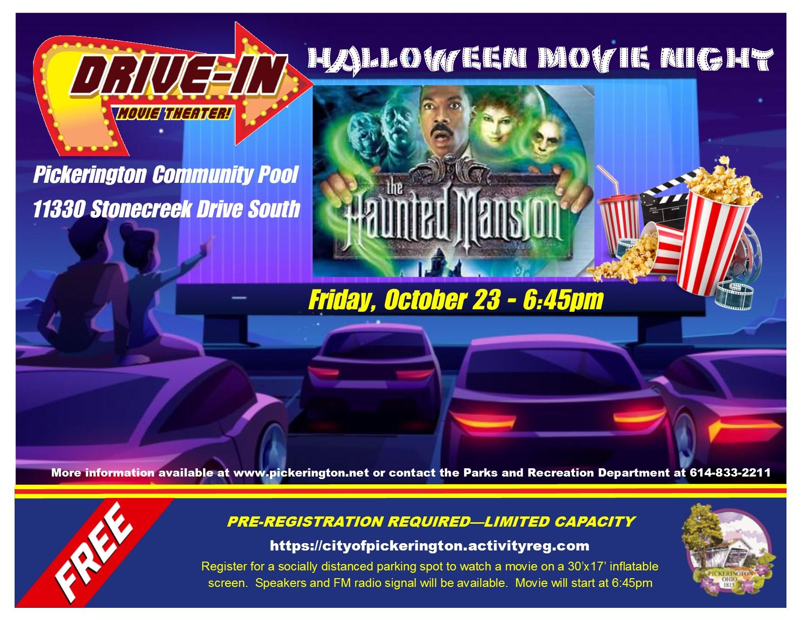 Pickerington Halloween 2020 Festival Halloween Drive In Movie   Visit Fairfield County