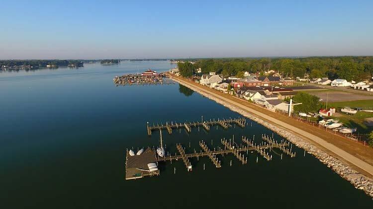 Buckeye Lake in Ohio.