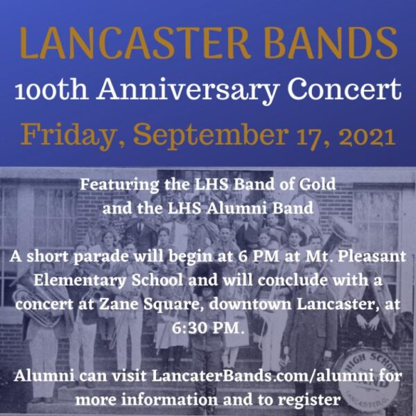 LHS Alumni Band and Band of Gold Concert: Celebrating 100 Years!
